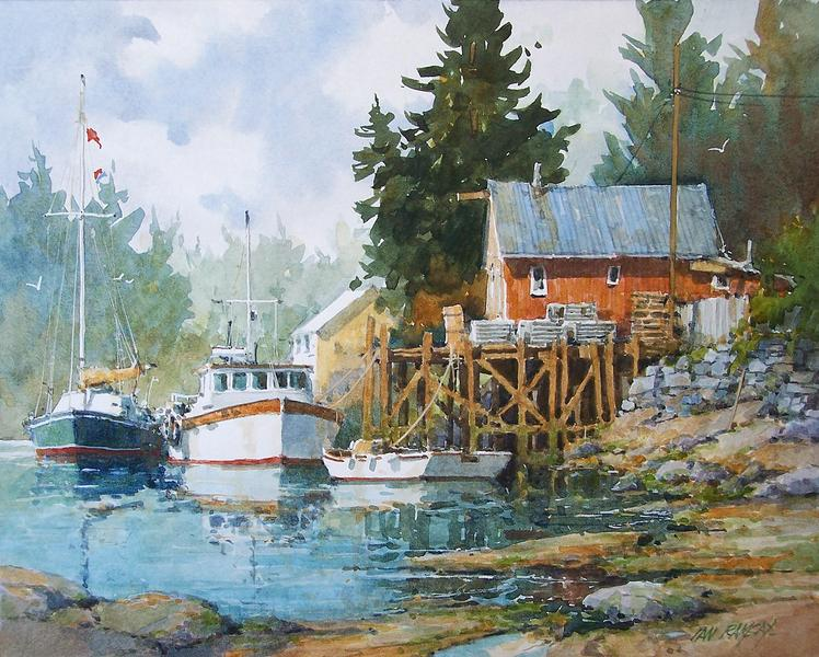 Work Boats For Sale >> Deck the Walls: Holiday Miniature Show - Exhibitions - Trailside Galleries